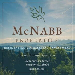 McNabb Properties, Murphy NC realtors
